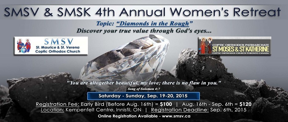 Annual Women's Retreat 2015 - Diamonds in the Rough