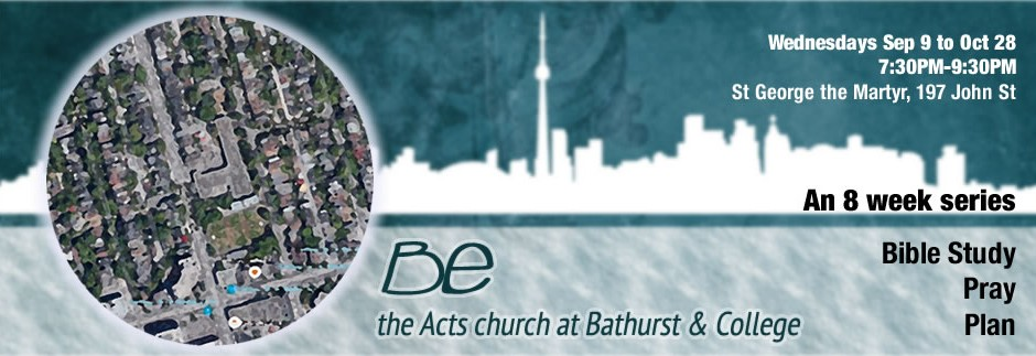 'Be' 8 Week Bible Series